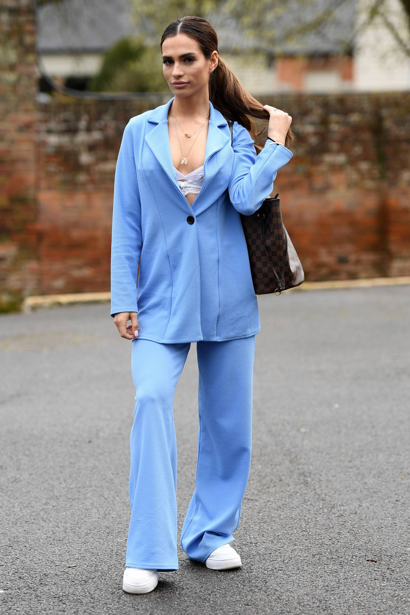Nicole Bass  - Pictured at The Only Way is Essex TV Show set in Essex