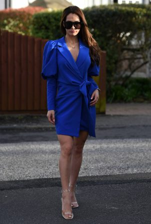 Nicole Bass - The Only Way is Essex TV show filming in Essex