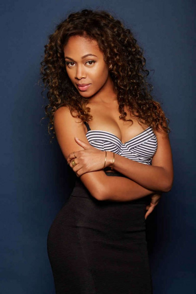 Nicole Beharie – Becoming Attraction Photoshoot for Playboy.com (September 2015)