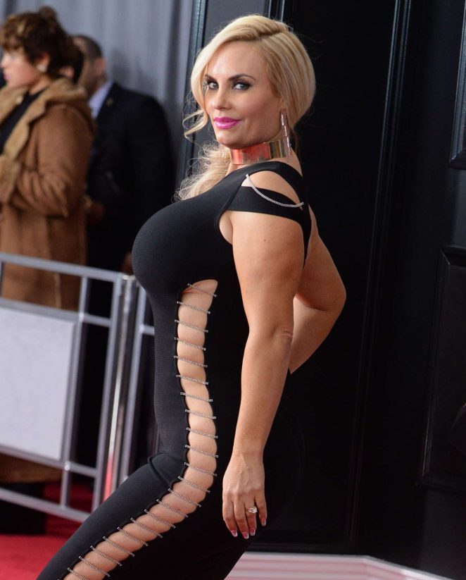 Nicole Coco Austin – 2018 GRAMMY Awards in New York City