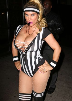 Nicole Coco Austin - Heidi Klum 17th Annual Halloween Party in NYC