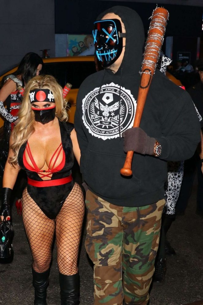 Nicole Coco Austin – Heidi Klum's 19th Annual Halloween Party in NYC