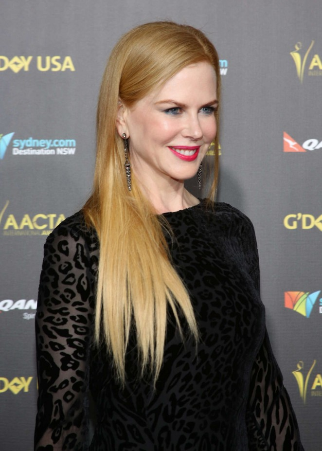 Nicole Kidman – 2015 G'Day USA GALA featuring the AACTA International Awards presented by QANTAS in LA
