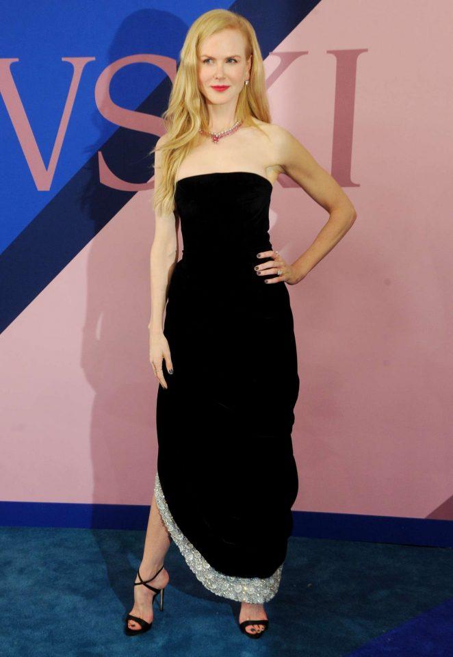 Nicole Kidman - 2017 CFDA Fashion Awards in New York