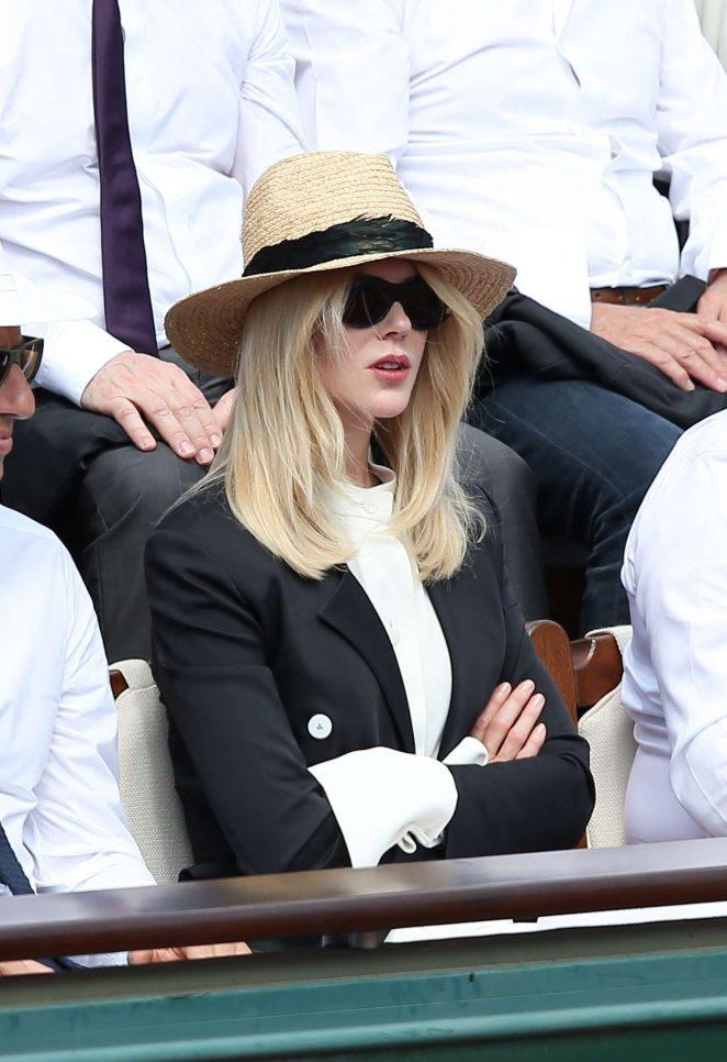 5bb3fdddbf447 Nicole Kidman – 2017 French Open at Roland Garros in Paris – GotCeleb
