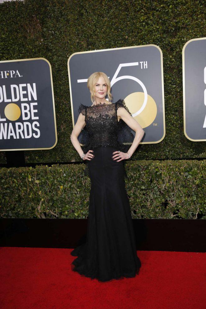 Nicole Kidman - 2018 Golden Globe Awards in Beverly Hills