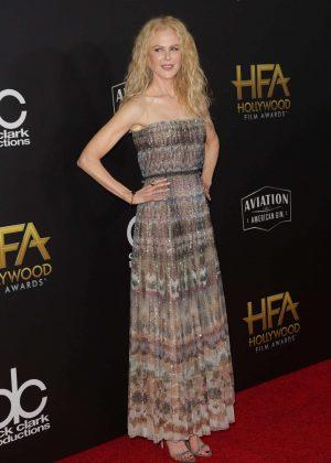 Nicole Kidman - 2018 Hollywood Film Awards in Los Angeles