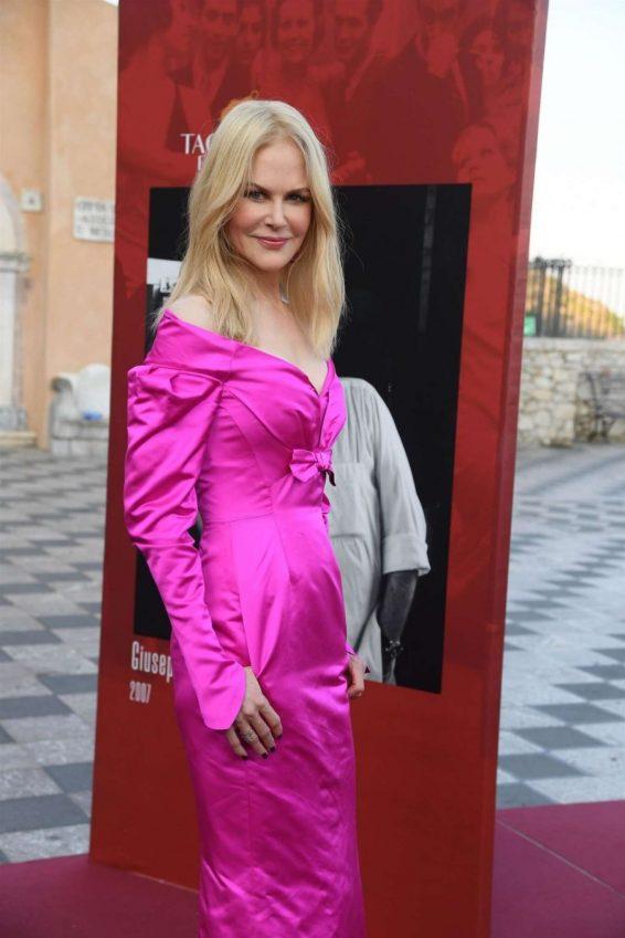 Nicole Kidman - 65th Taormina Film Fest in Taormina