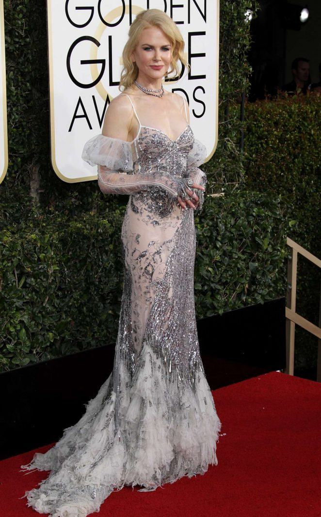 Nicole Kidman - 74th Annual Golden Globe Awards in Beverly Hills