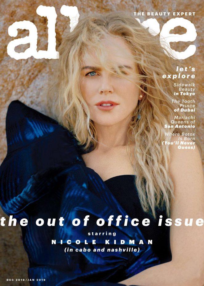 Nicole Kidman – Allure Magazine (December 2018/January 2019)