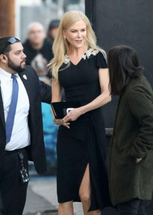 Nicole Kidman - Arrives at 'Jimmy Kimmel Live' in Los Angeles