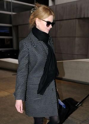 Nicole Kidman - Arrives at LAX Airport in LA