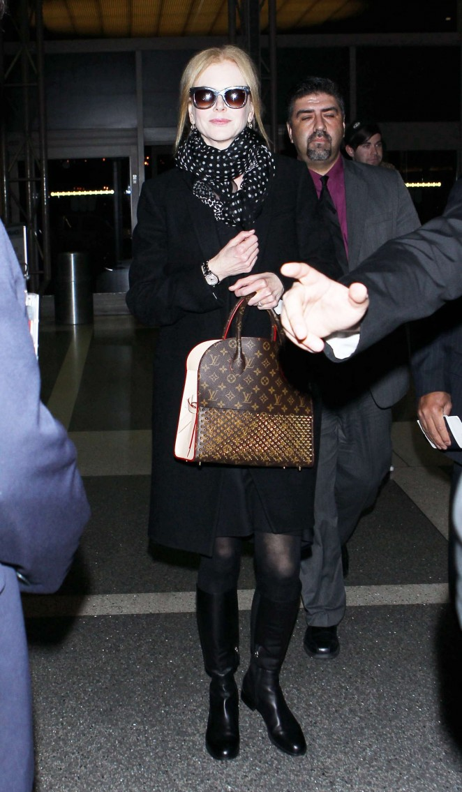 Nicole Kidman - Arriving at LAX Airport in Los Angeles