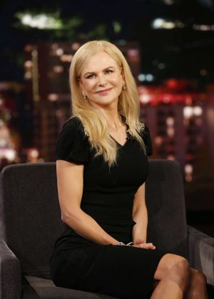 Nicole Kidman at 'Jimmy Kimmel Live' in Los Angeles