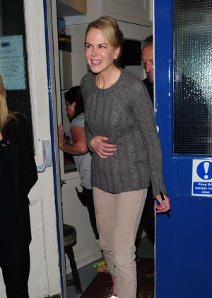 Nicole Kidman at Noel Coward Theatre in London