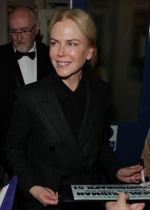 Nicole Kidman at the Noel Coward Theatre in London