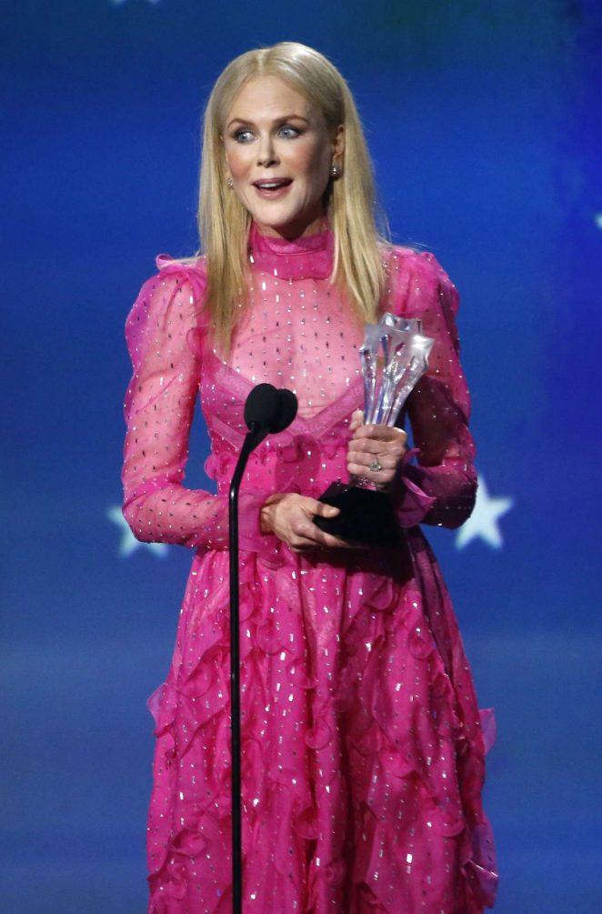 Nicole Kidman - Critics' Choice Awards 2018 in Santa Monica