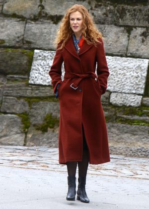 Nicole Kidman - Filming 'The Undoing' Set in NYC
