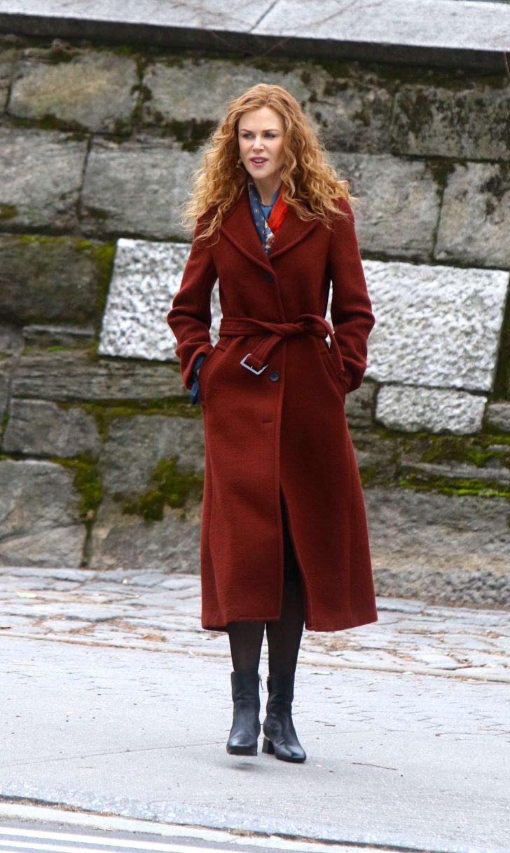 Nicole Kidman - Filming 'The Undoing' Set in NYC