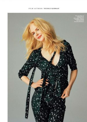 Nicole Kidman - Glamour UK Magazine (July 2017)