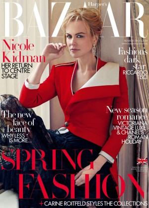 Nicole Kidman - Harper's Bazaar UK Magazine (March 2016)