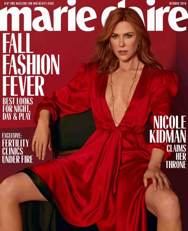 Nicole Kidman - Marie Claire Magazine (October 2018)