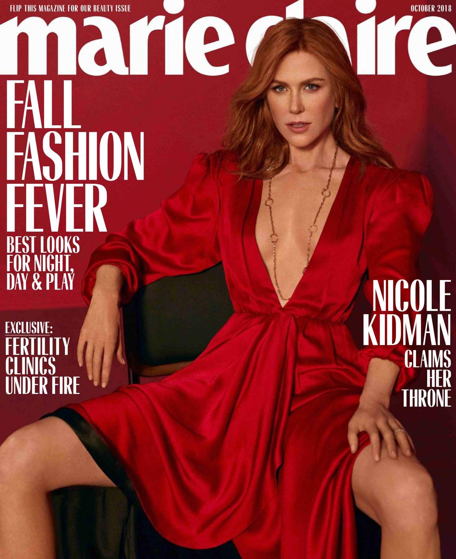 Nicole Kidman – Marie Claire Magazine (October 2018)
