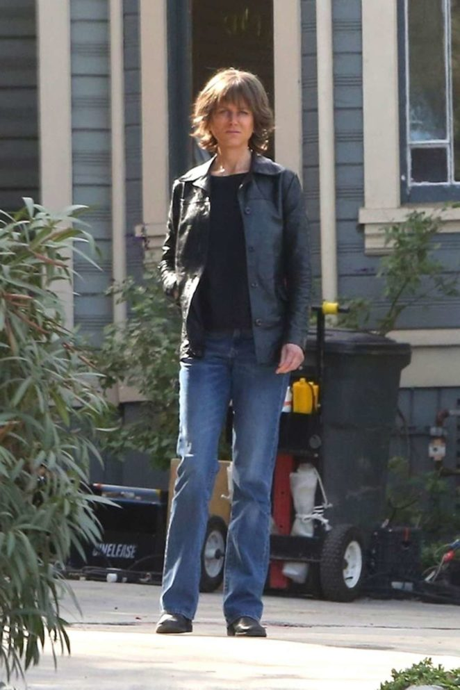 Nicole Kidman - On the set of 'Destroyer' in Los Angeles