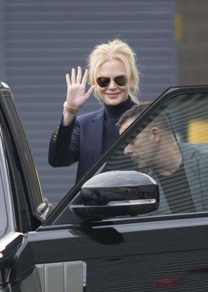 Nicole Kidman out and about in Sydney