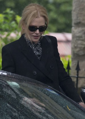 Nicole Kidman out in Sydney