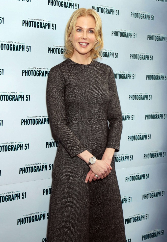 Nicole Kidman - 'Photograph 51' Photocall in London