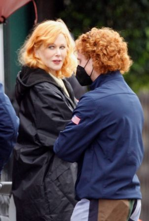 Nicole Kidman - Plays famous redhead Lucille Ball in 'Being the Ricardos' in Hollywood