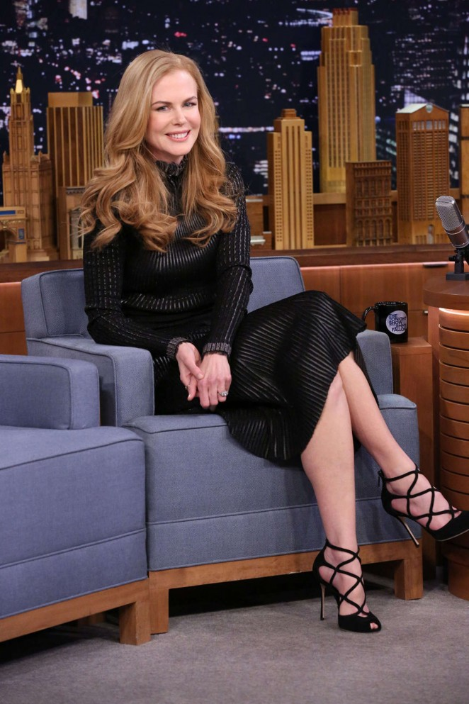 Nicole Kidman - The Tonight Show With Jimmy Fallon in NYC