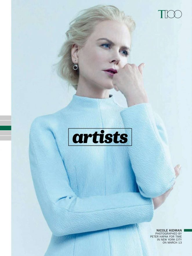 Nicole Kidman - Time 100's Most Influential People (May 2018)