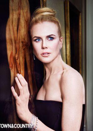 Nicole Kidman - Town & Country Magazine (Dec 2016/Jan 2017)