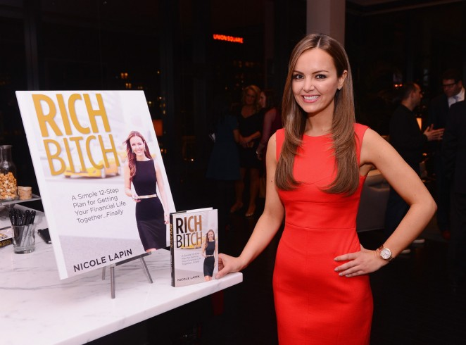 Nicole Lapin: Rich Bitch Book Party -02