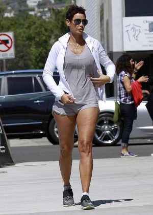 Nicole Murphy Arriving at Crossroads in West Hollywood