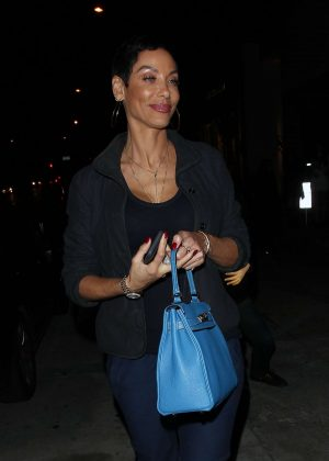 Nicole Murphy at Catch Restaurant in West Hollywood