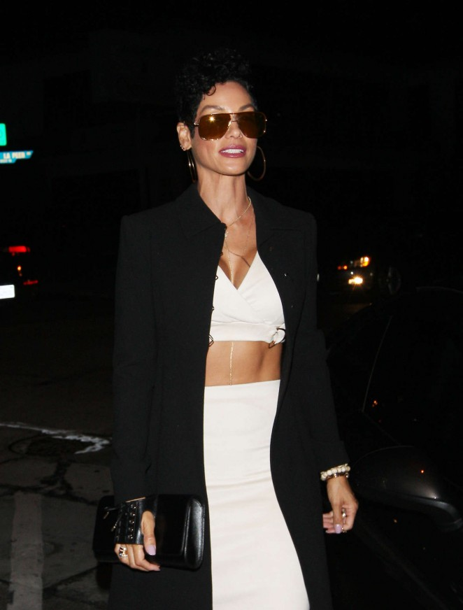Nicole Murphy at Craig's Restaurant in West Hollywood