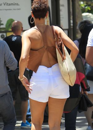 Nicole Murphy at The Grove in Hollywood