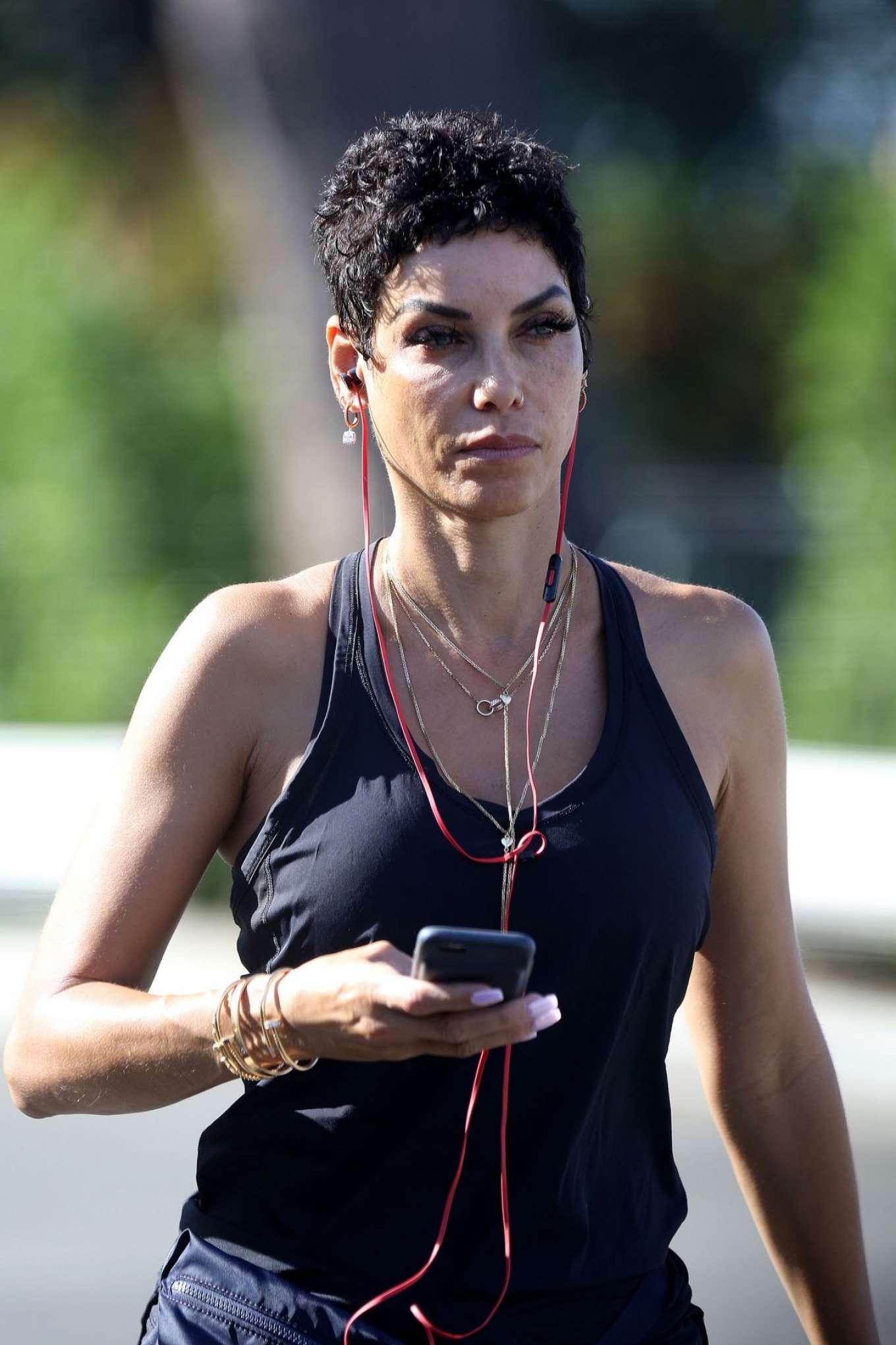 Nicole Murphy 2017 : Nicole Murphy: Hits the gym in Santa Monica -05