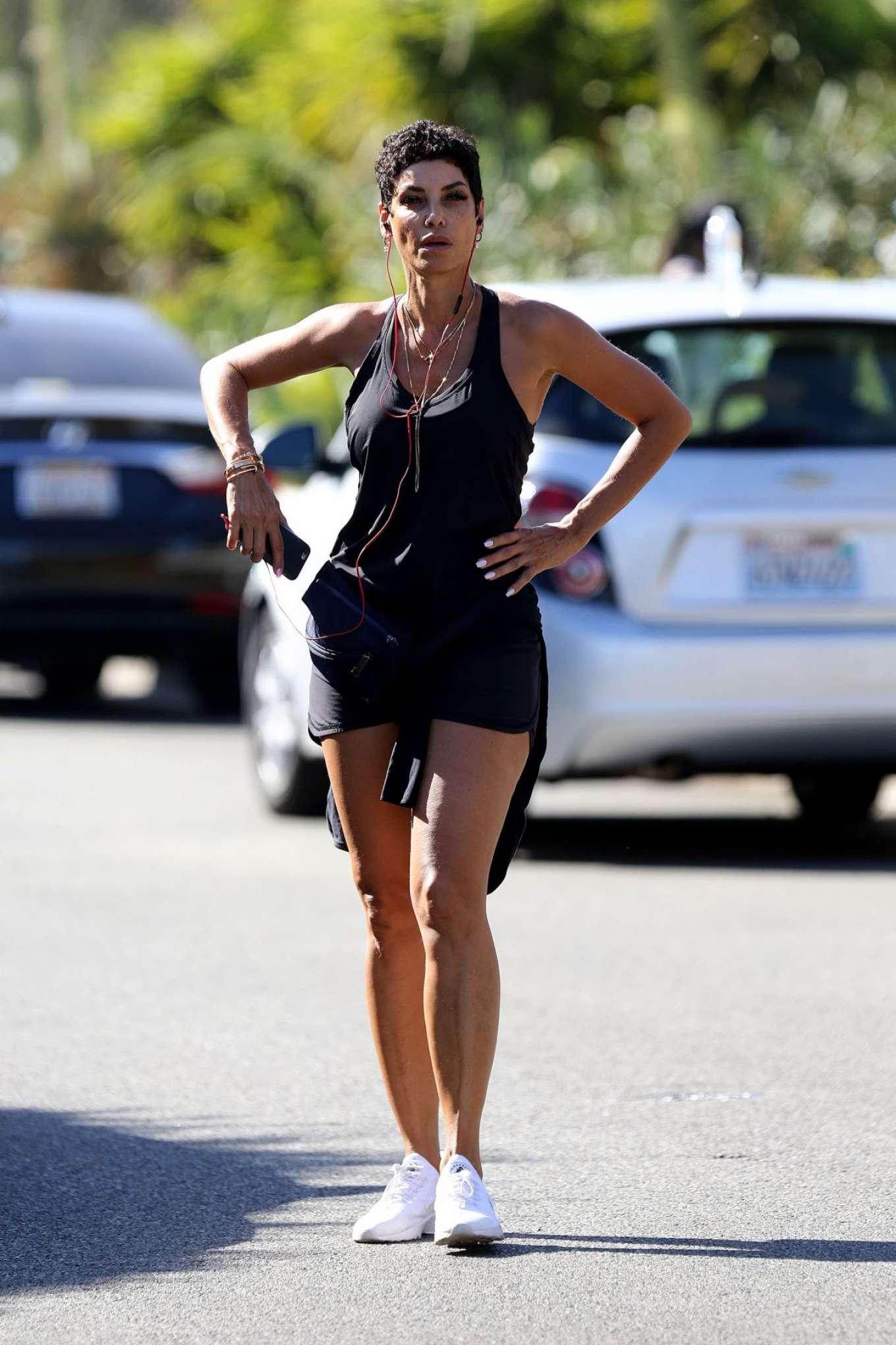 Nicole Murphy 2017 : Nicole Murphy: Hits the gym in Santa Monica -06