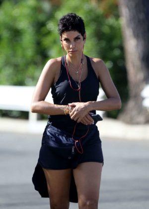 Nicole Murphy - Hits the gym in Santa Monica