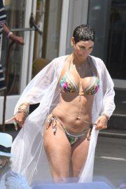 Nicole Murphy in Bikini in Ischia