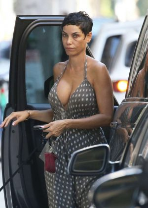 Nicole Murphy in Summer Dress - Out in Beverly Hills