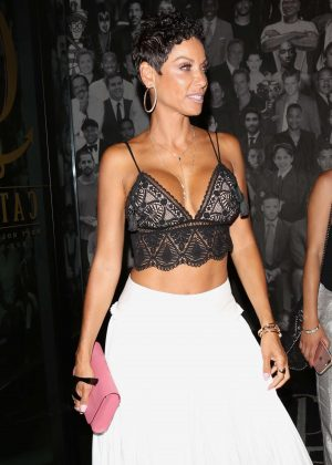 Nicole Murphy Leaving Catch Restaurant in West Hollywood