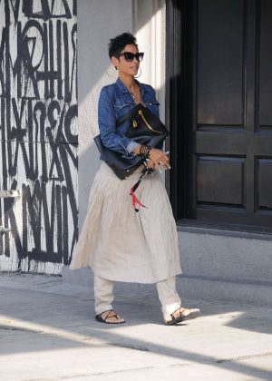 Nicole Murphy out and about in Los Angeles