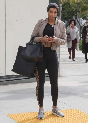 Nicole Murphy - Out in Beverly Hills