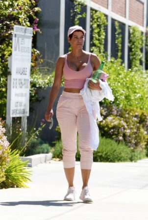 Nicole Murphy - Seen after workout in Los Angeles