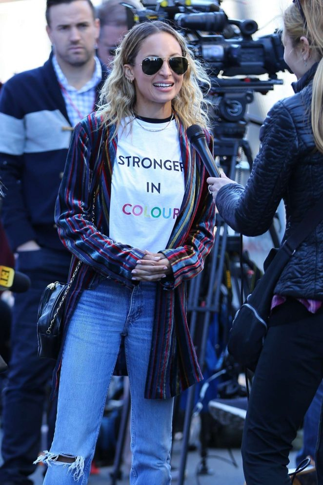 Nicole Richie - 2018 Women's March in Los Angeles